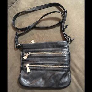 Handbags - BLACK MEDIUM CROSSBODY BAG